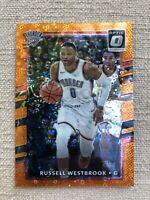 2017-18 Donruss Optic Russell Westbrook Orange Prizm 108/193 And Donruss Optic