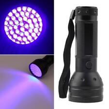 UV Violet 51 LED Flashlight Blacklight Light 395 nM Inspection Lamp Torch Gi/h