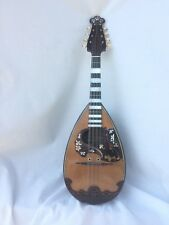 Concert Mandolin by Raffaele Calace anno 1909, possible elongated fingerboards!