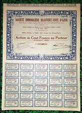 Dépt 06 & Paris VIII ème - Antibes & 116 Av. des Champs Elysées - Très Rare 1936