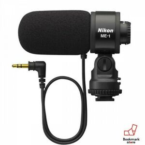 USED Nikon ME-1 Stereo Microphone 27045 with Camera Accessory Case