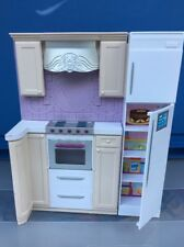 BARBIE FURNITURE MY HOUSE Kitchen Bedroom Two Sides Furniture Wall