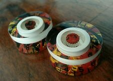 2 Guitar Speed Volume / Tone Knobs... White/Tortoise Shell... JAT C.G.P