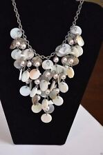 "Cookie Lee - Vivi New Wave Shell Necklace  NWT NOS   16-19"" Adjustable"