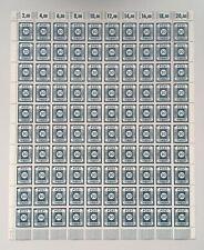 SBZ Ost-Sachsen 48 D II kompletter Bogen postfrisch geprüft Findeisen Zierer BPP