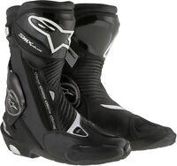Alpinestars SMX Plus Boots Black Motorcycle Motorbike Mens SALE 8 9 10 10.5