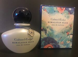 CRABTREE & EVELYN HIMALAYAN BLUE EDT 1 OZ SPRAY (30ml) NEW IN BOX DISCONTINUED