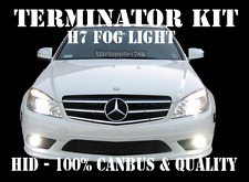 MERCEDES BENZ C CLASS H7 CANBUS FOG LIGHT HID KIT TERMINATOR XENON KIT NO ERRORS
