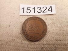 World Coin Sale - 1950 Germany 2 Pfennig Nice Collector Grade - # 151324