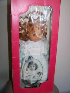 NIB Engel Puppe Vinyl Girl Doll Made in Germany Red Hair