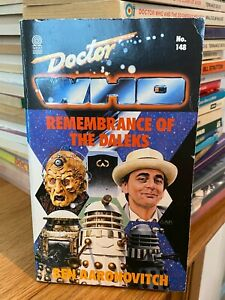 doctor who target book -  REMEMBRANCE OF THE DALEKS - 1st edition