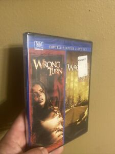 Wrong Turn / Wrong Turn 2 (Unrated DVD 2-Disc Set Double Feature) BRAND NEW