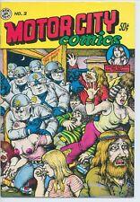 Motor City Comics #2 Rip Off Robert Crumb 1970 FINE+