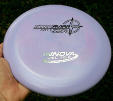 DISC GOLF INNOVA STAR AVIAR PUTTER 173.7 GRAMS w/BLACK & CHROME FOIL HOT-STAMP