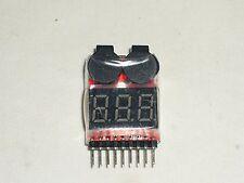 Testeur pour batterie Lipo / alame avec buzzer batterie faible 1S à 8S checker