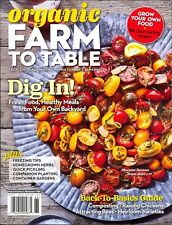Organic Farm To Table Harris Farmer's Almanac #68 Spring 2018