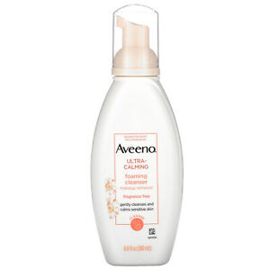 Ultra-Calming Foaming Cleanser, Fragrance Free, 6.0 fl oz (180 ml)