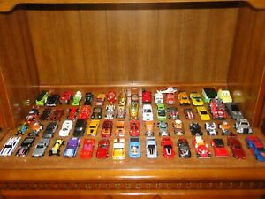 64 VINTAGE CARS Including hot wheels bw