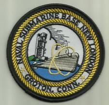 U.S.Navy Patch Naval Submarine Base New London Groton.Conn Sailor Soilder Nukes