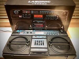 Lasonic I-931 bt Bluetooth Vintage Boombox Black
