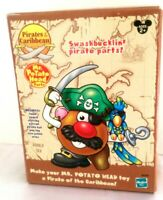 HASBRO Pirates Of The Caribbean Mr. Potato Head Parts-Swashbucklin NEW & SEALED