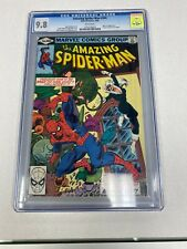 THE AMAZING SPIDER-MAN #204 MAVELS COMICS 5/80 CGC 9.8 WHITE PAGES BLACK CAT
