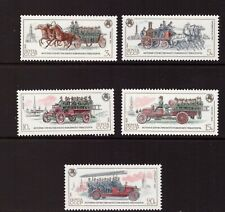 Russia USSR MNH 1984 Fire Engines set mint stamps