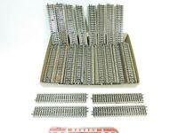 BF536-3# 50x Märklin H0/AC 5106 Gleisstück/Schiene gerade ( M-Gleis) 2. Wahl