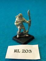 Fantasy RPG/Rol D&D, Pathfinder - Elf Archer - Metal RL203
