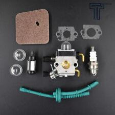 New Carburetor for STIHL FS55 FS55R FS55RC KM55 HL45 KM55R FS38 w/ Fuel Line USA