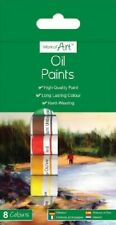 OIL COLOUR PAINTS - 8 COLOURS - ART - BRAND NEW