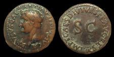 DRUSUS - AE As (Struck under Titus - Restoration coinage)
