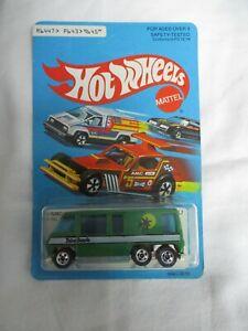 Hot Wheels 1979 GMC Motor Home Palm Beach Made In Hong Kong Sealed In Card