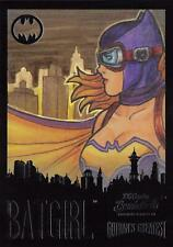 DC Comics Bombshells III RAINBOW FOIL GOTHAM'S GREATEST INSERT GG7 / BATGIRL