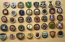 More details for forty (40) vintage enamel badges bowling clubs towns & local clubs