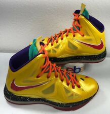 Zapatos Atléticos Nike Amarillo Nike Lebron para hombres | eBay