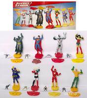 Komplettsatz Justice League DV412-DV419 Kinder Ferrero  mit allen BPZ