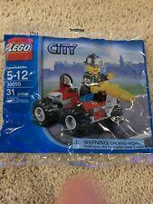 Lego City Fire Chief Fireman & Vehicle 30010