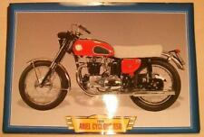 ARIEL CYCLONE 650 VINTAGE CLASSIC MOTORCYCLE BIKE 1950'S PICTURE PRINT 1959