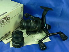 Mulinello Shimano Power aero 1000RE made in Japan, pesca spinning, bolognese