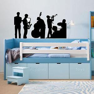 Jazz band MASSIVE  vinyl wall sticker  bedroom office van car  decal  laptop