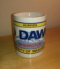 Washington Huskies Go Dawgs UW Coffee Mug Cup by Cricket Club Inc