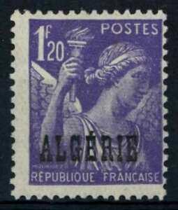 Algeria 1945-7 SG#238, 1f20 Violet Iris MH #E91118