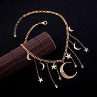 Women Elegant Retro Rhinestone Alloy spider pendant necklace Women jewelry BJ