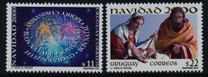 Uruguay 1889-90 MNH Christmas