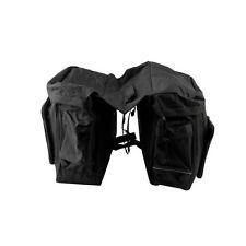 Set mit doppelter Fahrradtasche
