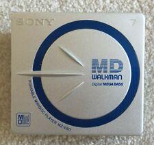 Sony Portable MiniDisc Player MZ-E60 (Walkman only)