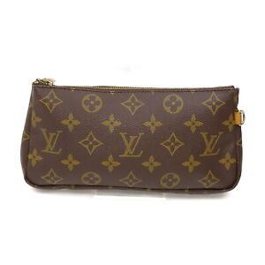Louis Vuitton LV Cosmetic Pouch Bag Pouch of SacShopping Browns Monogram 1418627