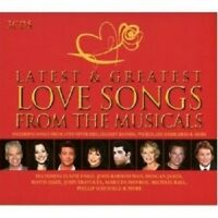 LATEST & GREATEST MUSICAL LOVE SONGS 3 CD NEU