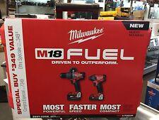 New! Milwaukee 2897-22CX M18 FUEL Brushless 18V Combo Kit!